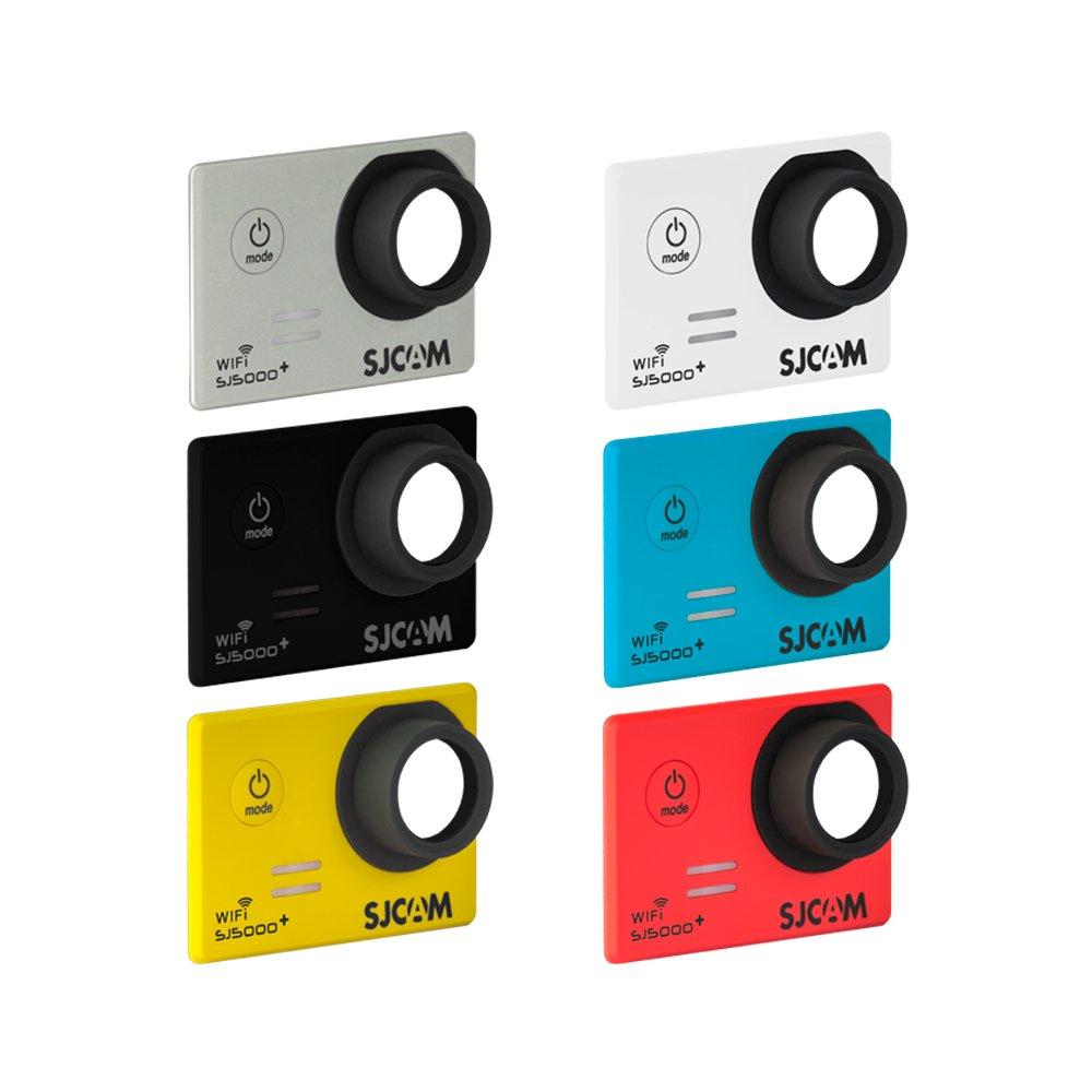 SJCam SJ-6COL-5000+ - Kit Original SJCAM de 6 Carcasas Frontales Intercambiables compatibles con el Modelo SJCAM SJ5000 Plus