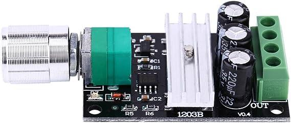 PWM DC 6V 12V 24V 28V 3A Upgraded Motor Variable Speed Controller Switch Motor Driver 1203BK Regulator Module Board