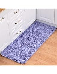 careu extralong chenille kitchen runner rugs bathroom shag carpet runner