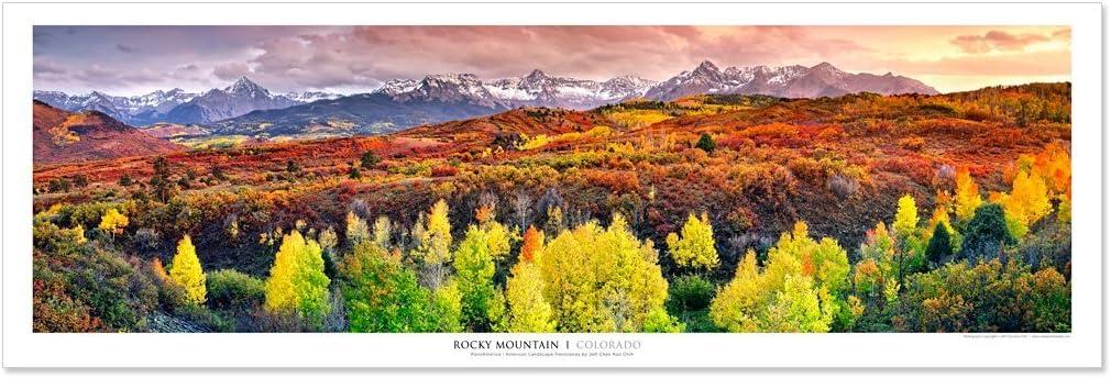 Vista Point Studio Gallery Award Winning Panoramic Poster: Rocky Mountains, Colorado