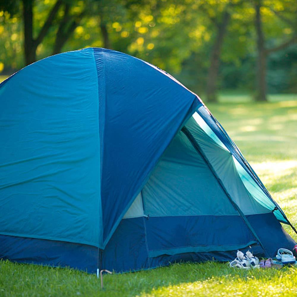 Godyluck 6Pcs//10Pcs Piquets De Tente Titanique De Chevilles Coudent des Clous De 169mm pour Le Camping Ext/érieur
