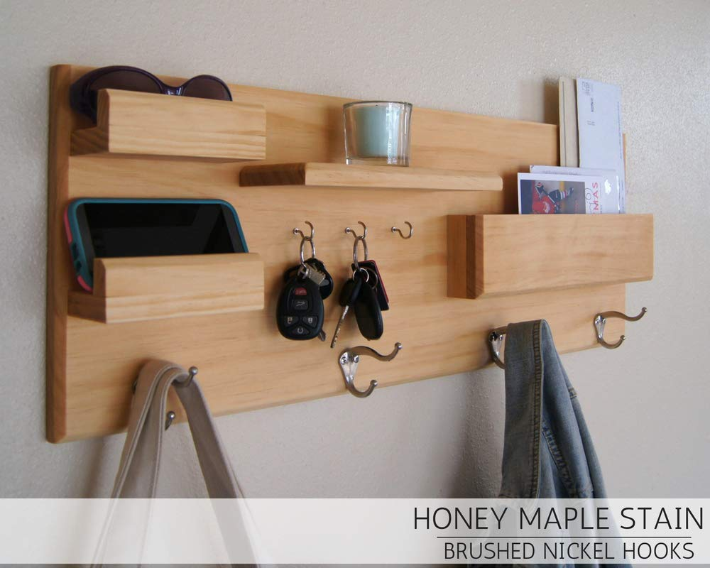 Home Organization Hooks Entryway Organizer Coat Rack