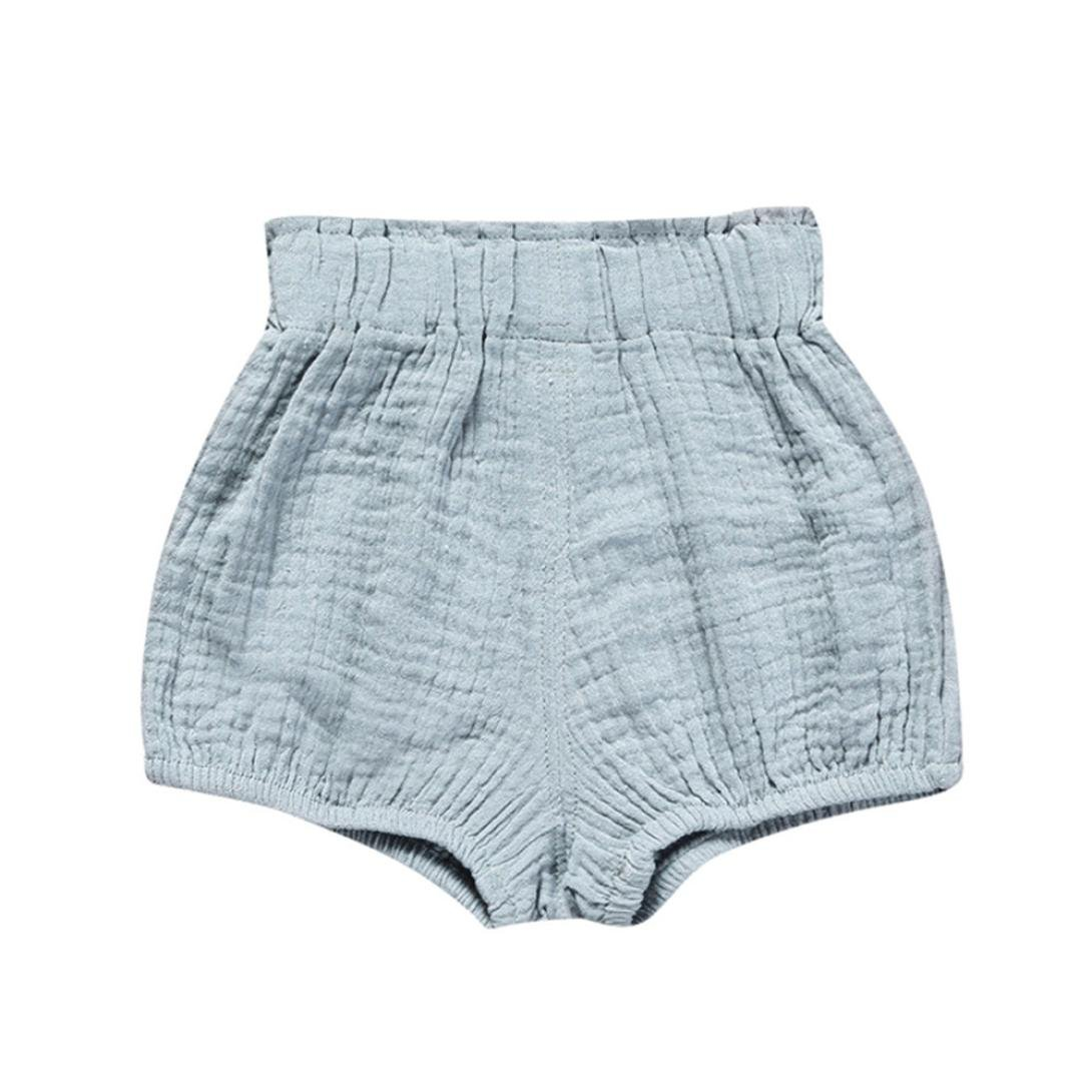 Hot Sale!Todaies Newborn Children Cute Pants Baby Girl Boys Dot Geometric Shorts Pants Cotton Linen Leggings 0-6M, Khaki