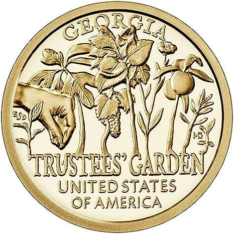 2019 P American Innovation Georgia Trustees Garden Dollar BU