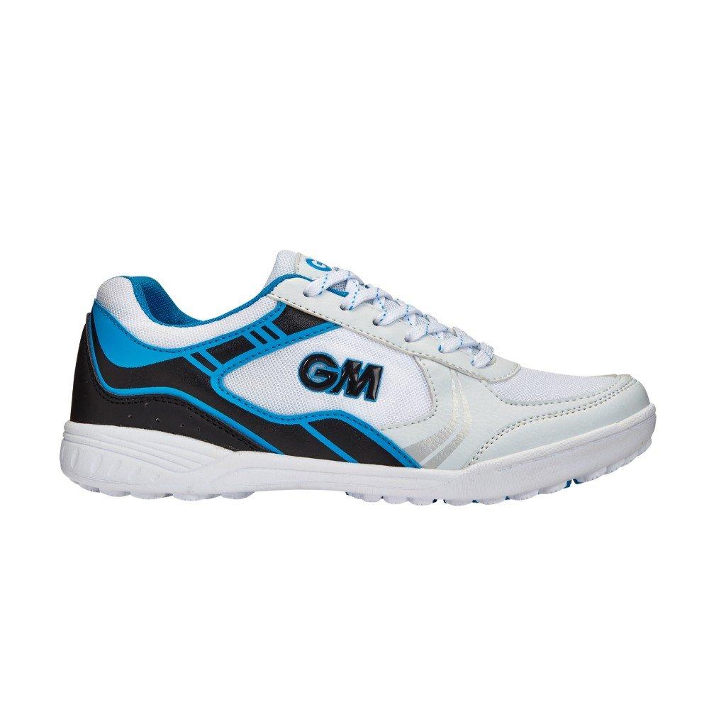 Gunn & Moore Hero All-Rounder, Chaussures de Cricket Mixte Enfant, Multicolore (Blue/Black Blue/Black), 38 EU