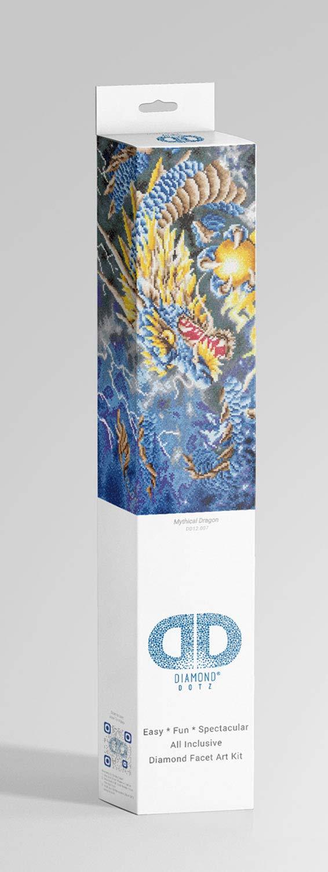 ca Malen mit Diamanten Pracht Creatives Hobby DD12-007 68 x 47 cm gro/ß Diamond Dotz Mythischer Drache funkelndes Diamantbild zum Selbstgestalten neuer und kreativer Basteltrend