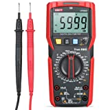 KKmoon UNI-T UT89XD Digital Multimeter High Accuracy Handheld Mini Universal Meter 6000 Counts LCD Display True RMS Measure AC/DC Voltage Current Frequency Diode Tester