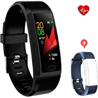 F-FISH Fitness Tracker Monitor de frecuencia cardíaca, Smart Watch Fitness Tracker Watch Hombres Mujeres Smart Watch…