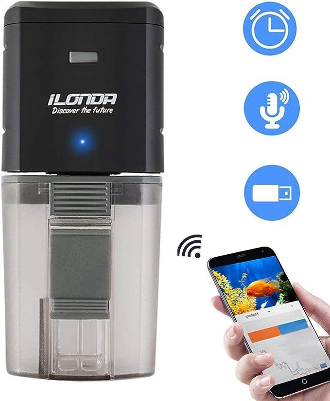 13 opinioni per Wi-Fi Alimentatore Automatico di Pesce, Telecomando Adatto per Acquario,