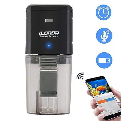 Petyoung Alimentador automático de Peces, Mando a Distancia WiFi o Temporizador de Comida para Peces