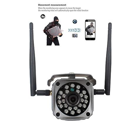 Dome Cámara PTZ – Cámara de vigilancia con monitor, WiFi Cámara WIFI teléfono móvil,