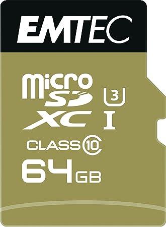 Emtec ECMSDM64GXC10SP Memoria Flash 64 GB MicroSDXC Clase 10 ...