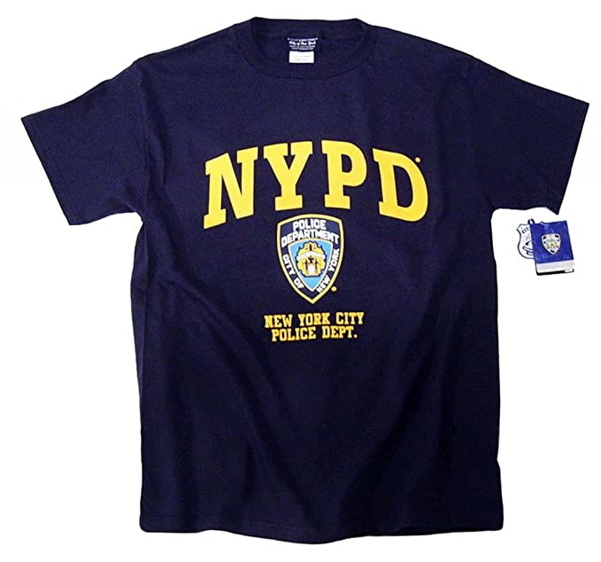 5492eec0 NYPD Shirt T-Shirt NYPD Blue Season Hat Cap Badge Clothing Uniform Gear  Apparel Medium