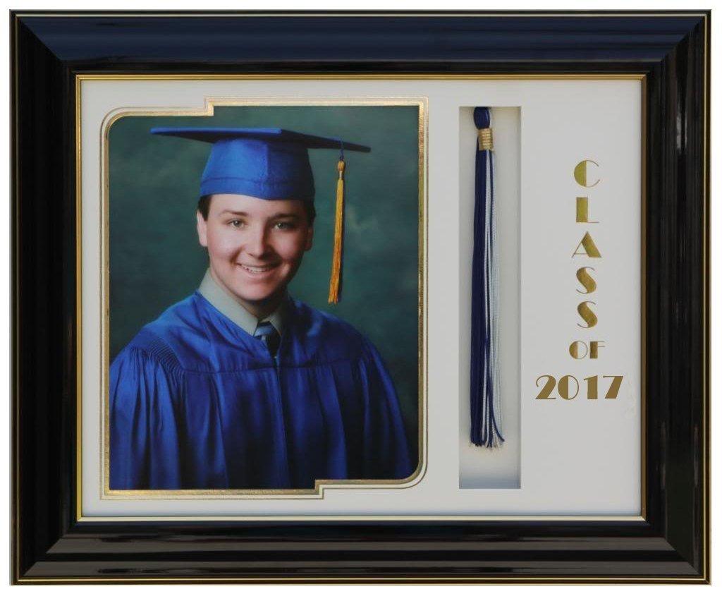 Graduation frame 8x10 Black/White 2017 (customizable)