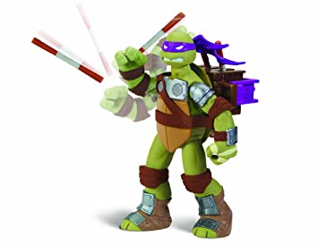 Teenage Mutant Ninja Turtles Flingerz - Figura de la tortuga ...
