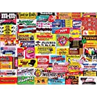 White Mountain Puzzles Candy Wrappers – Piece Jigsaw Puzzle 1000