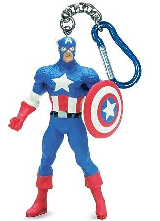 Marvel Capitán América Llavero PVC: Amazon.es: Juguetes y juegos