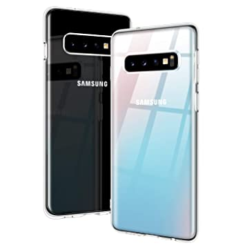 07098595800 RANVOO Funda Samsung Galaxy S10, Cristalina Transparente Ultra Delgada  Suave Gel de Silicona TPU Funda Protectora para Samsung Galaxy S10 de 6.1  Pulgadas ...