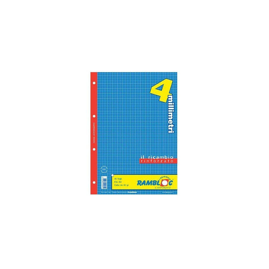 Rambloc Ricambi A4 210 x 297 mm (A4) 40fogli 90505081S