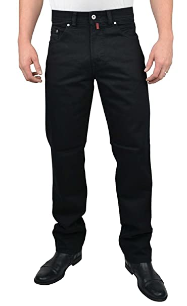 good out x new york latest discount Pierre Cardin Jeans Dijon Black: Amazon.co.uk: Clothing