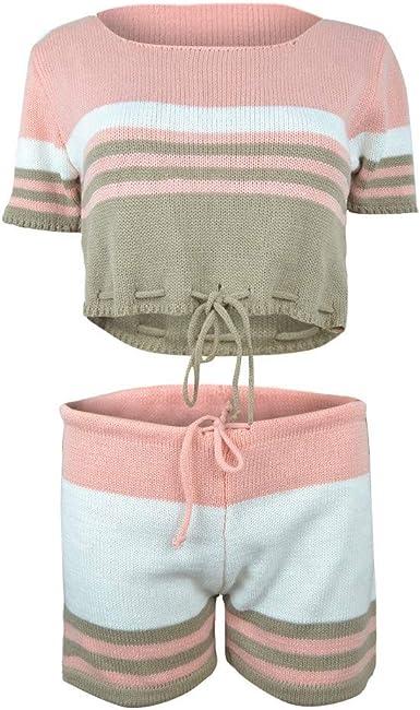 iLOP - Camiseta sin Mangas - con Botones - para Mujer Rosa S ...