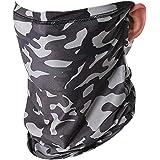 CGTL Men Women Bandana, Ice Silk Cooling Sports Face Scarf Headband Headwear