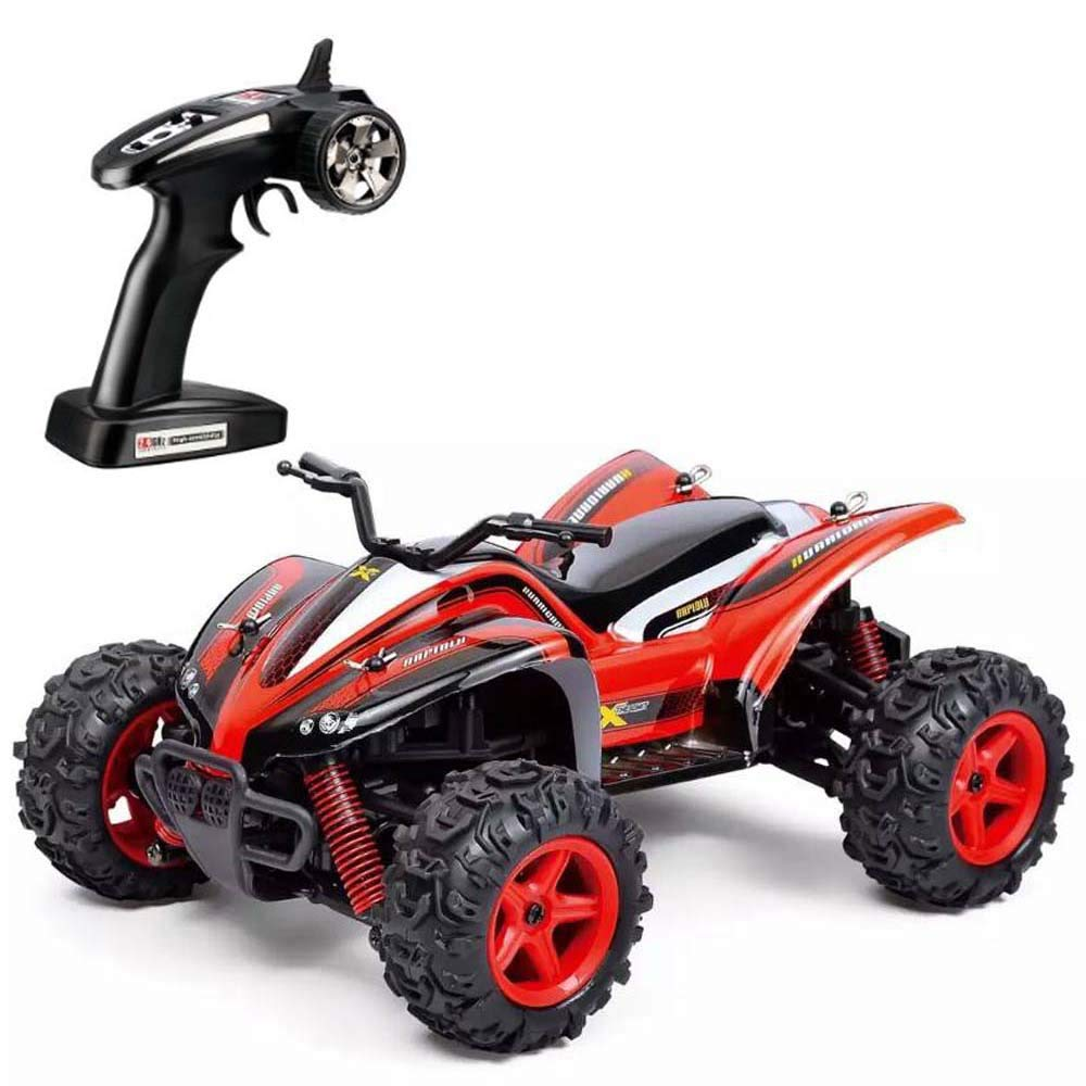 Choosebuy RC Car, SUBOTECH 25MPH 40km/h 1:24 High Speed Scale Off Road Car (Red)