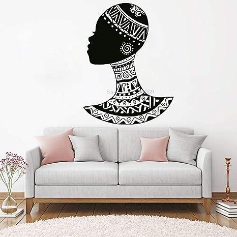 tzxdbh Classique Afro Américain Femmes Stickers Muraux Art ...