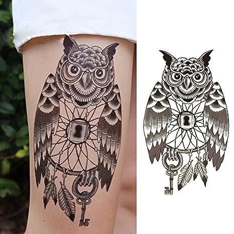 Oottati Tatuajes Temporales Muslo Brazo Indiana Anotó La Tecla De ...