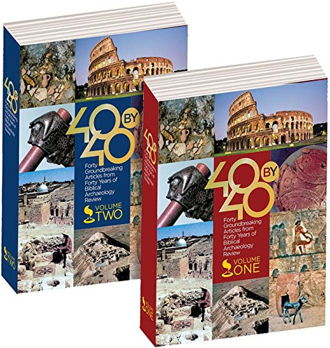 Price comparison product image 40 by 40: Forty Groundbreaking Articles from Forty Years of Biblical Archaeology Review