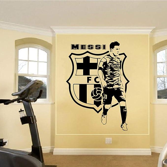 Jugadores de fútbol Etiqueta de la pared Habitación de los niños ...
