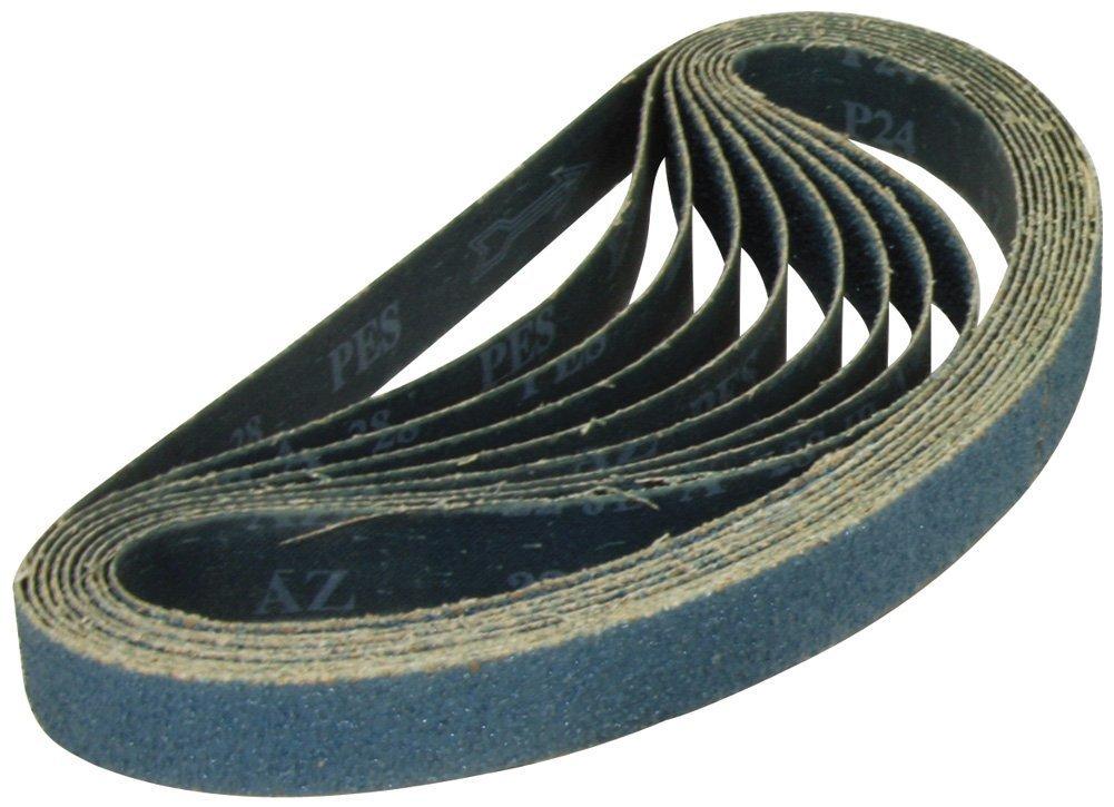 "10 PACK 1-1//2/"" x 30/"" Inch Zirconia Pipe and Tube Sanding Belt Kit 40 Grit"