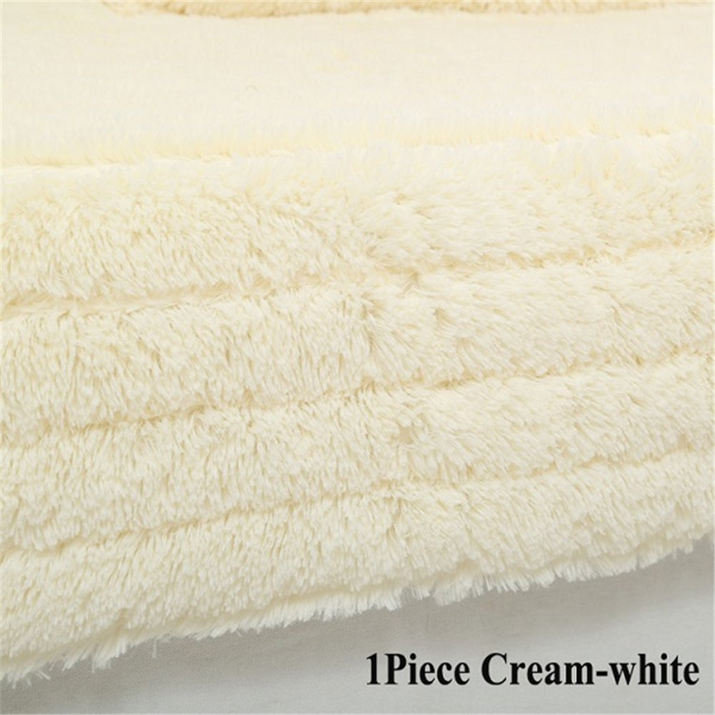 Hoxekle 1 Piece Plush Sofa Cover Towel Fluffy Soft Slipcover Resistant Seat Couch Cover For Living Room Window Mats L-shaped Sofa Decor Pillowcase