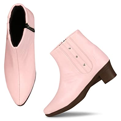 buy outlet for sale fashion styles FURIOZZ Zipper Boots for Women and Girls
