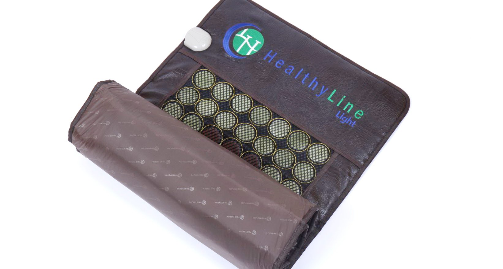 HealthyLine Far Infrared Heating Mat 72''x24'' Relieves Sore Muscles, Joints, Arthritis Natural Jade & Tourmaline with Negative Ions InfraMat Pro Most Flexible Model-Easy to roll-up(Light & Firm) by HealthyLine (Image #4)