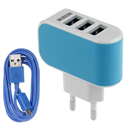 Amazon.com: USB Data Hstore Travel 3.1 A Triple puerto USB ...