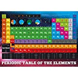 Posters: School XXL Poster - Periodic Table, Elements (54 x 38 inches)