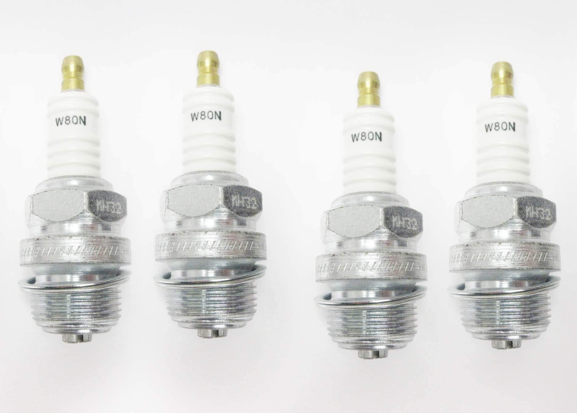 Champion 202 W80N Industrial Spark Plug Pack of 4