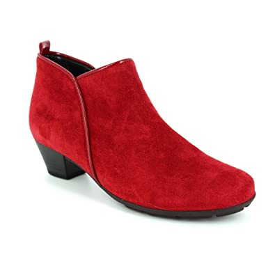 0673168d4fe3 Gabor Trudy Modern Ankle Boots in Cherry 5½ Cherry  Amazon.co.uk ...