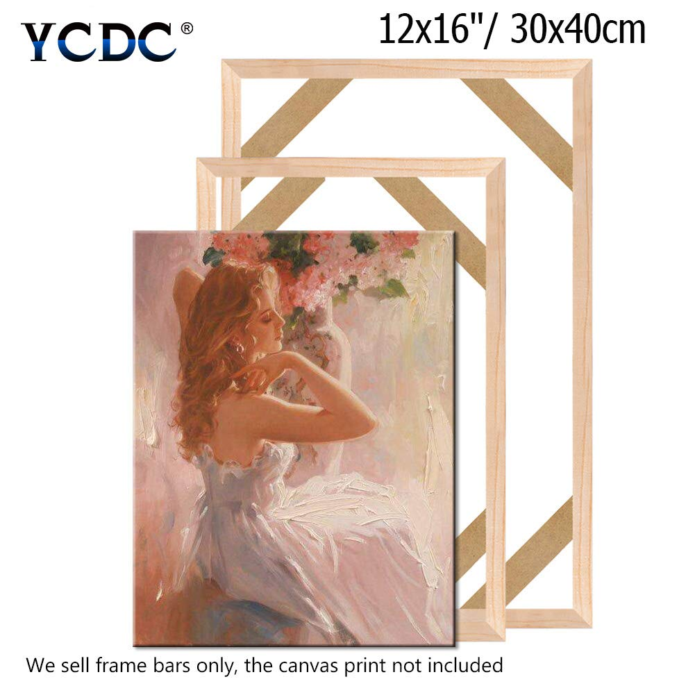 Canvas Wood Stretcher Bars Painting Wooden Frames for Gallery Wrap Oil Painting Posters Modern Life Accessory,16x22//40x55cm