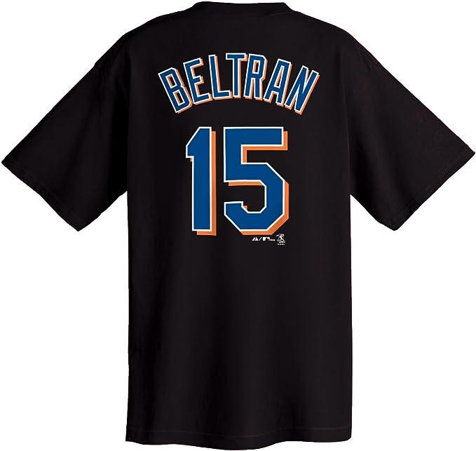 Amazon Com Carlos Beltran New York Mets Name And Number T