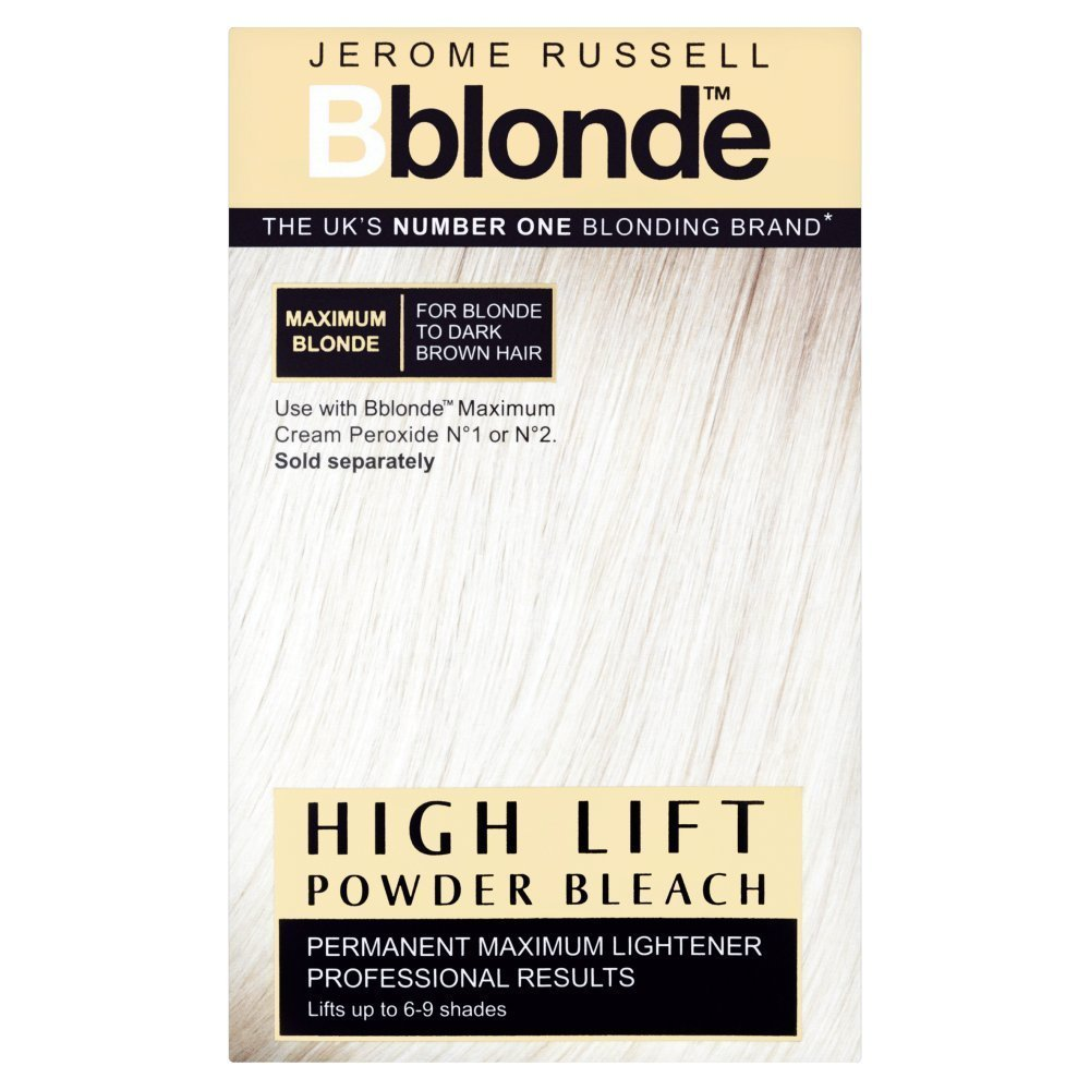 Bblonde Jerome Russell High Lift Powder Bleach Permanent Lightener (box Of 4 X 25g Sachets) 534230