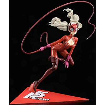 Amakuni Persona 5: Ann Takamaki 1:7 Scale PVC Figure (Phantom Thief - Red Base Version): Toys & Games
