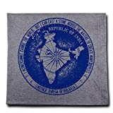 Message Brands Mother Teresa Change the World Passport Stamp Blanket