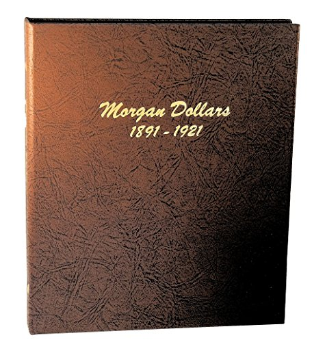 Dansco US Morgan Dollar Coin Album 1891 - 1921 #7179