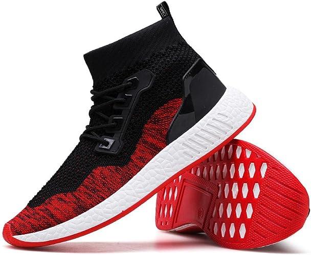 Herren Turnschuhe Socken Schuhe Freizeitschuhe Sneakers High Top Sportschuhe Neu
