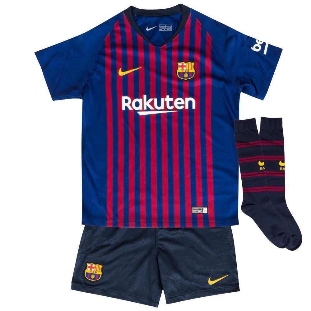 Nike Kinder FCB Lk Nk BRT Hm Jersey Set