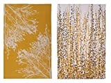 Ulster Weavers Clarissa Hulse Yellow Fynbos Cotton Tea Towel, 2 Pack CH 2
