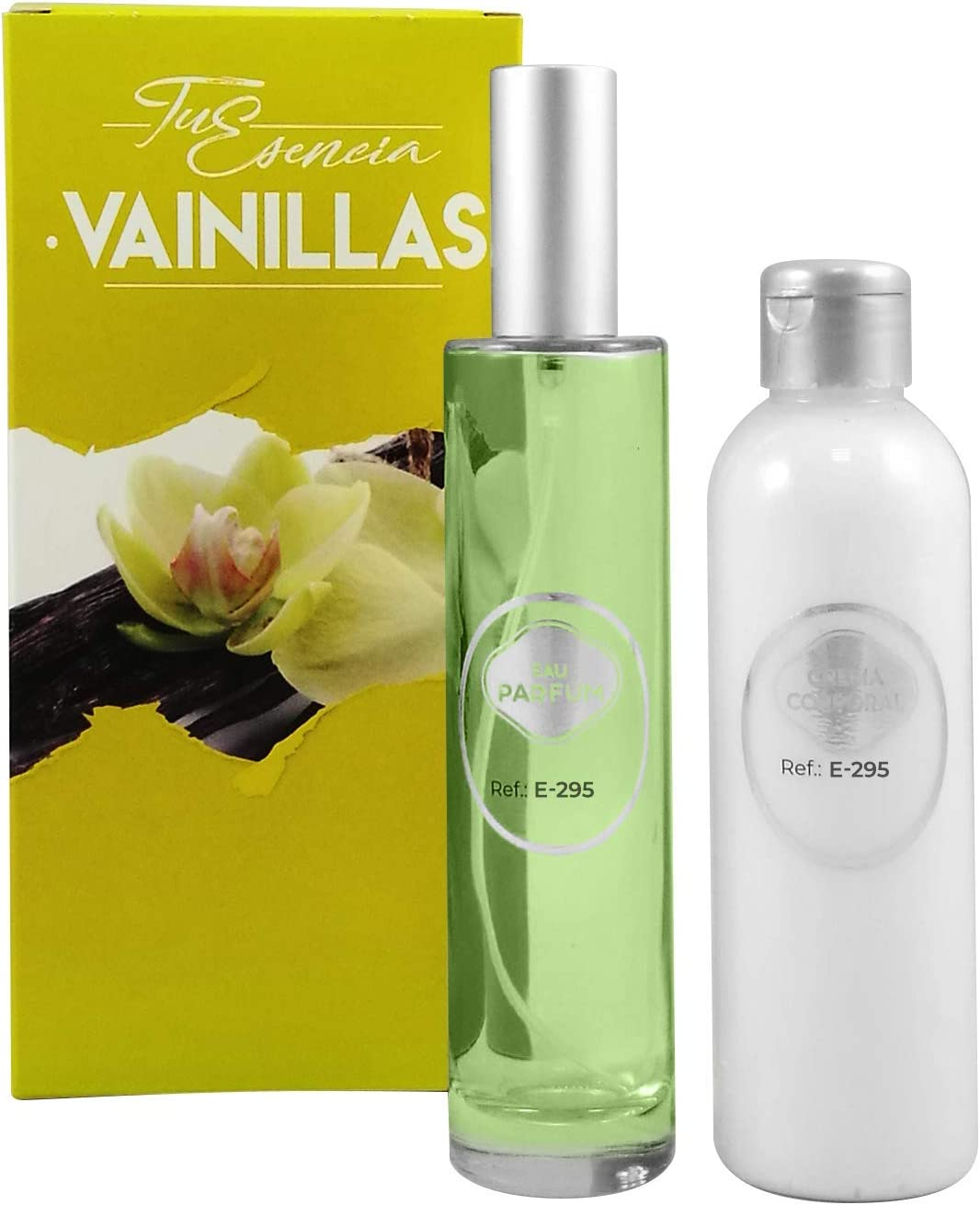 Pack Tu Esencia Vainillas Esenssi • Perfume E-295 Belle Vita 100 ml + Crema Corporal Perfumada E-295 200 ml • Acordes similares La Vie Est Belle Lancomê, Si Armani y Burberry Woman: Amazon.es: Belleza