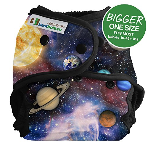 Bigger Best Bottom Reusable Cloth Diaper, Far Far Away